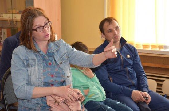 Очередная встреча депутата с родителями