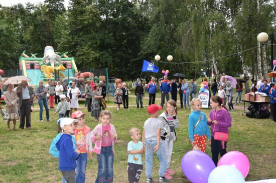 Праздник двора – в День семьи, любви и верности