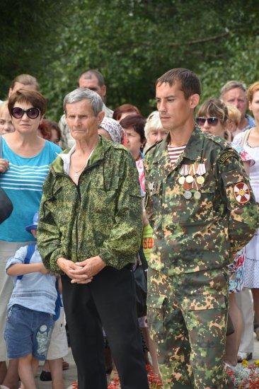 Митинг-реквием в память воинов-интернационалистов