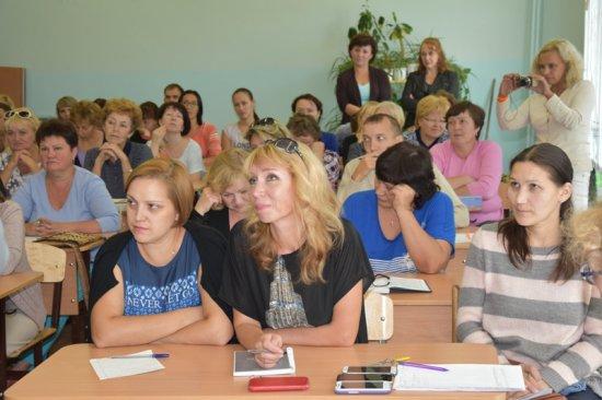 Встреча с педагогическим составом школы № 18