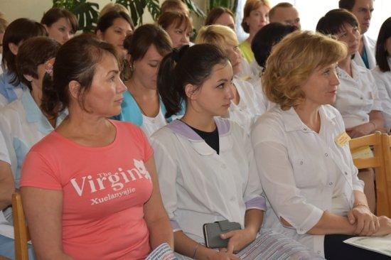 Встреча с сотрудниками Городского клинического центра