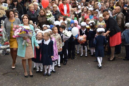 В День знаний - школы снова всех встречают!