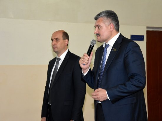 В.Н. Викторов принял участие в очередном родительском собрании