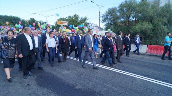 Алексей МУРЫГИН принял участие в открытии Московского моста