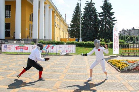 30 июня на Красной площади города Чебоксары отметили XXIX Всероссийский олимпийский день