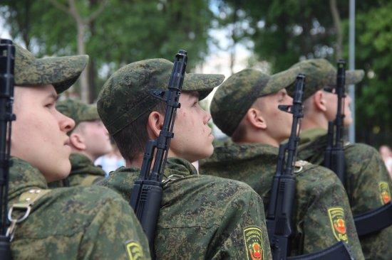 Алексей Мурыгин принял участие в республиканском слет кадет и ЮНАРМИИ «Вместе мы едины!»