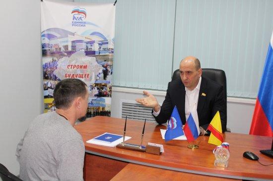 Алексей Мурыгин провел прием граждан