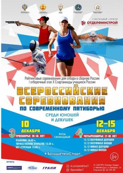 Всероссийские соревнования по современному пятиборью в дисциплинах троеборье и четырехборье
