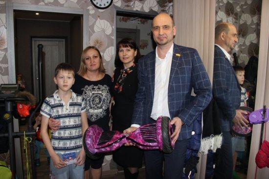 Алексей Мурыгин исполнил новогоднее желание юного чебоксарца