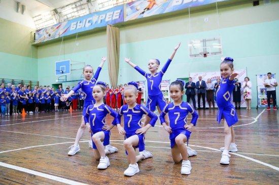 Алексей Мурыгин посетил семейно-спортивный праздник